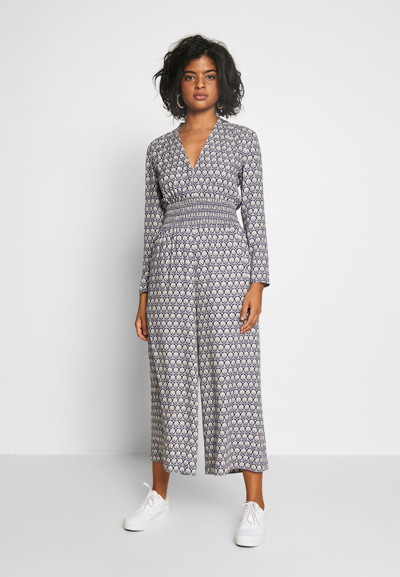Scotch & Soda - ALLOVER PRINTED ALL IN ONE - Jumpsuit - blue/white