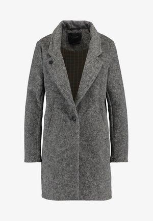 BONDED IN CHECKS AND SOLIDS - Krátký kabát - grey melange