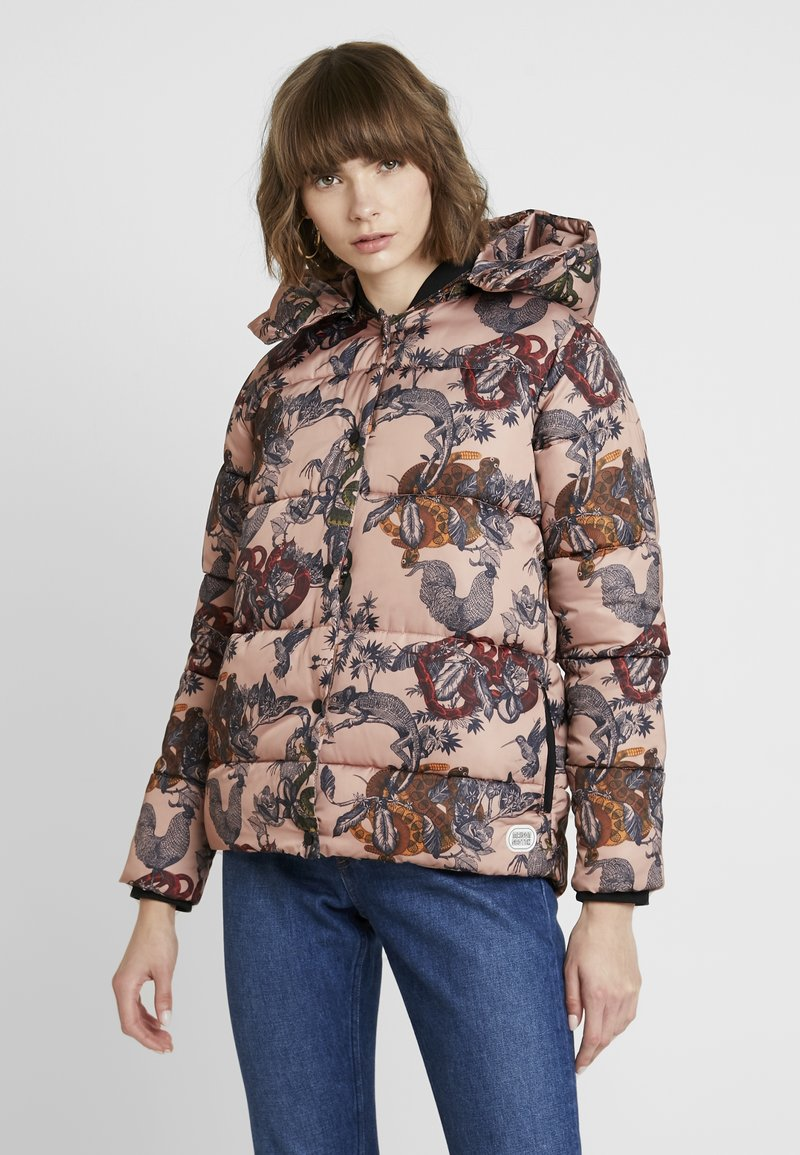 Scotch & Soda - PRIMALOFT JACKET WITH PRINT - Chaqueta de plumas - combo