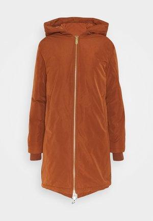 PADDED JACKET WITH PRIMALOFT FILLING - Winter coat - cinnamon