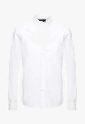 REGULAR FIT OXFORD SHIRT WITH STRETCH - Shirt - white