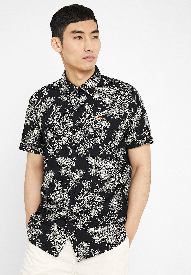 Scotch & Soda - REGULAR FIT - Camisa - black