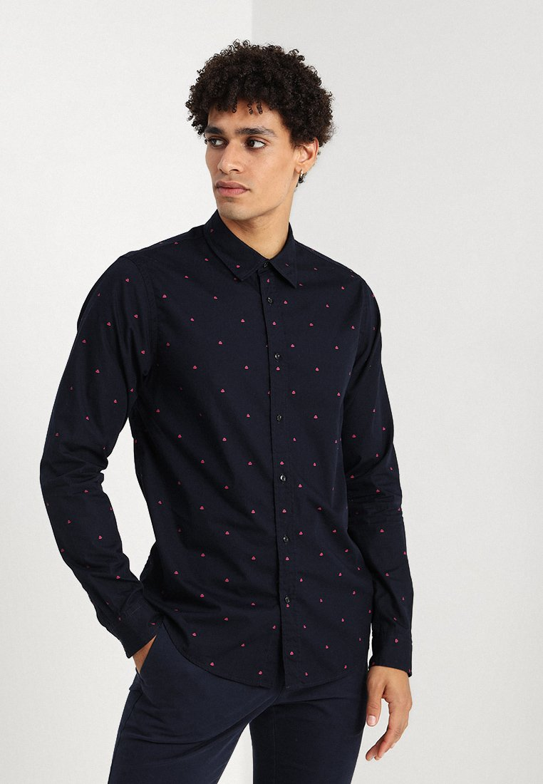Scotch & Soda - REGULAR FIT CLASSIC ALL-OVER PRINTED SHIRT - Shirt - combo a