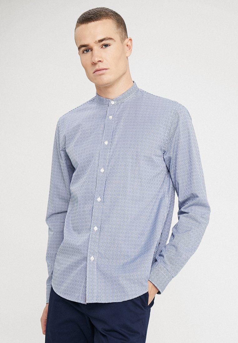 Scotch & Soda - REGULAR FIT COLLARLESS - Shirt - multi-coloured