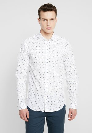 SLIM FIT CRISPY - Camisa - white
