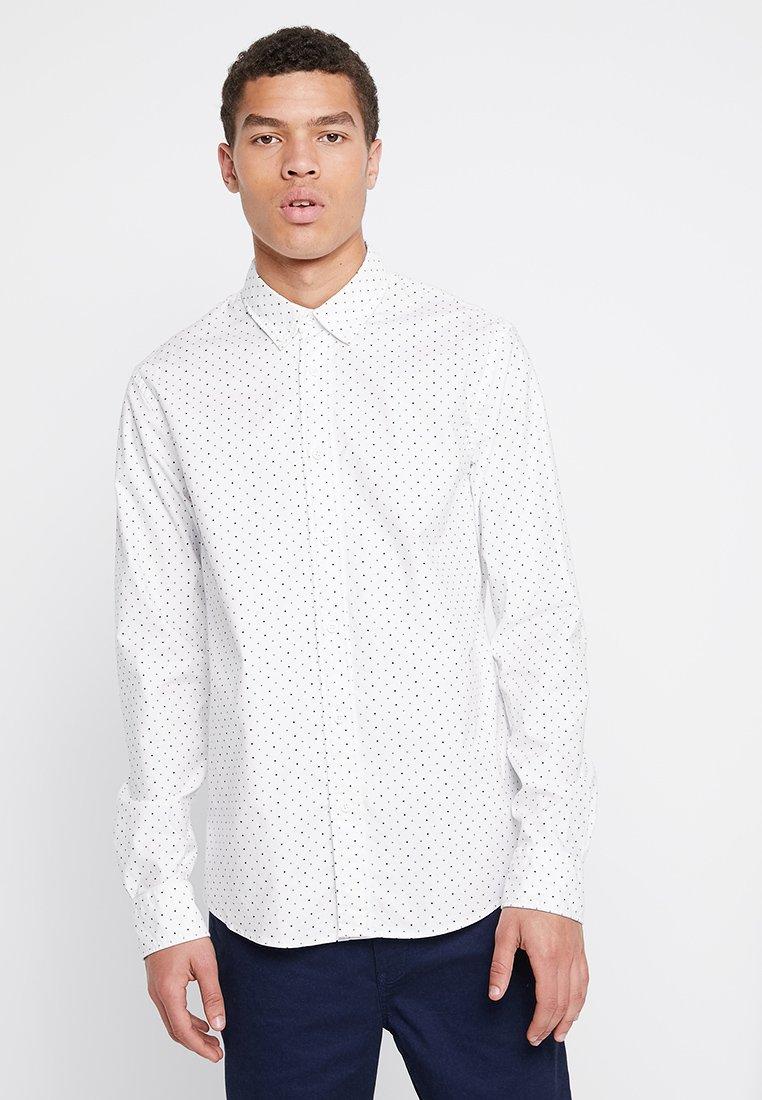 Scotch & Soda - REGULAR FIT CLASSIC OXFORD SHIRT - Shirt - white