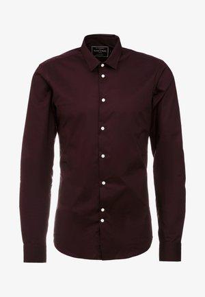 SLIM FIT  - Shirt - bordeaux