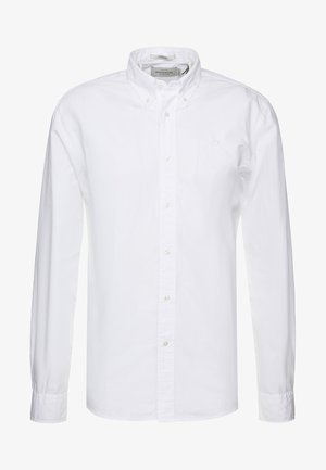 CRISPY REGULAR FIT BUTTON DOWN COLLAR - Košile - white