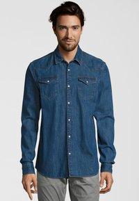 Scotch & Soda - MIT PASSEN - Overhemd - blue - 0