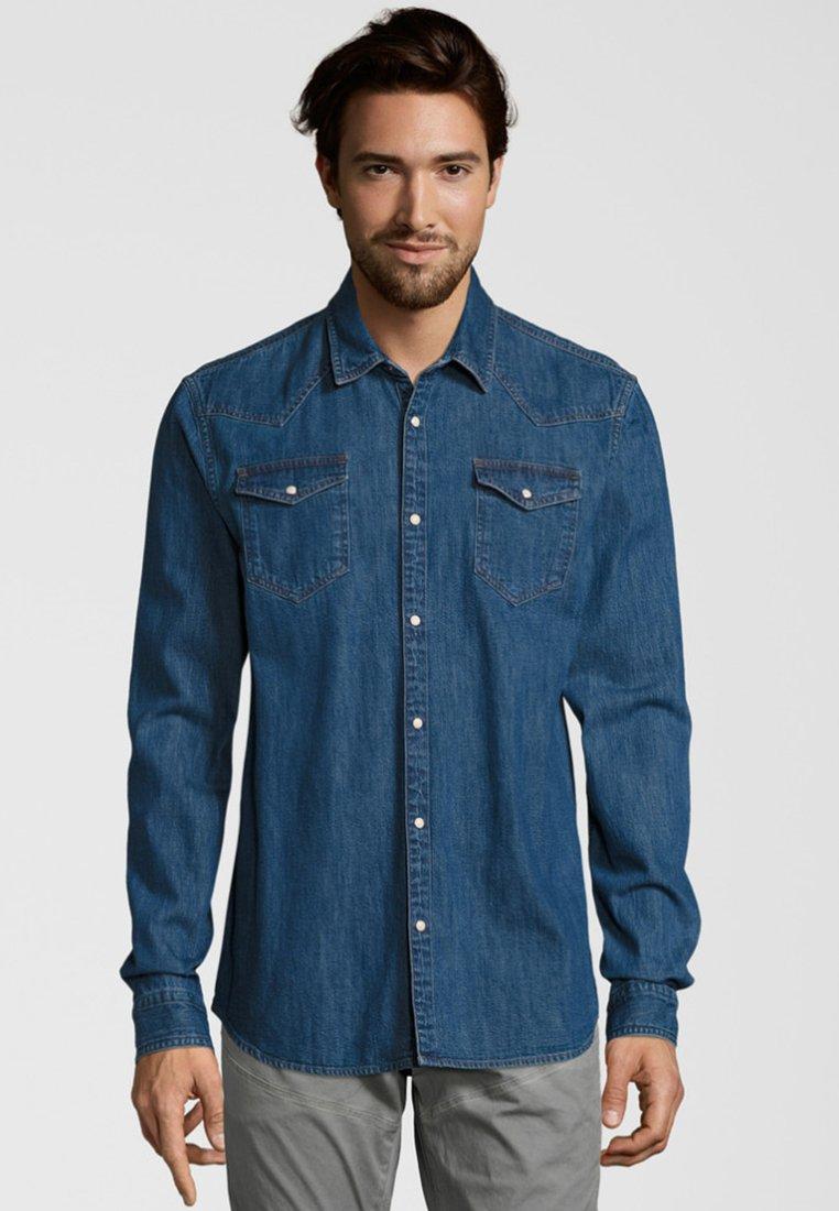 Scotch & Soda - MIT PASSEN - Overhemd - blue