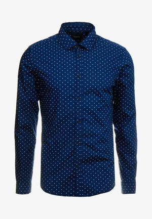 BLAUW LIGHT WEIGHT SHIRT WITH PRINTS - Shirt - dark blue/white