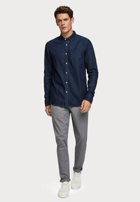 Scotch & Soda - LONG SLEEVE WITH POCHET POCKET - Chemise - dark blue - 1