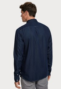 Scotch & Soda - LONG SLEEVE WITH POCHET POCKET - Chemise - dark blue - 2