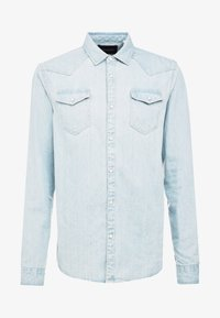 Scotch & Soda - WESTERN IN SEASONAL WASHES - Chemise - bleached indigo - 4