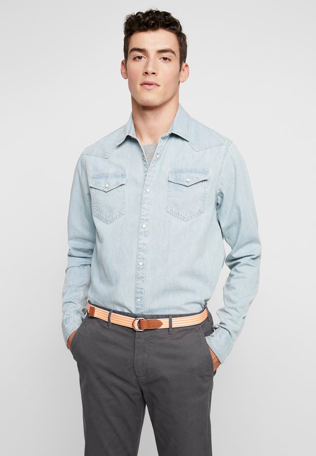 WESTERN IN SEASONAL WASHES - Overhemd - bleached indigo