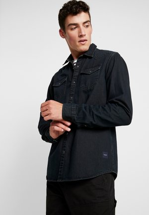 WESTERN IN SEASONAL WASHES - Camicia - black