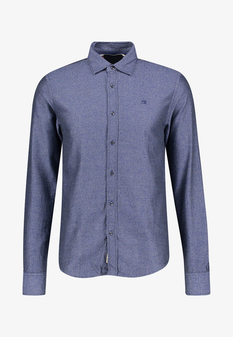 Scotch & Soda - LANGARM - Shirt - dark blue