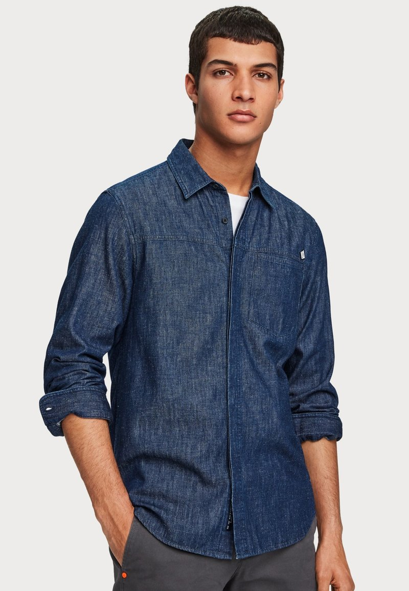Scotch & Soda - Chemise - indigo