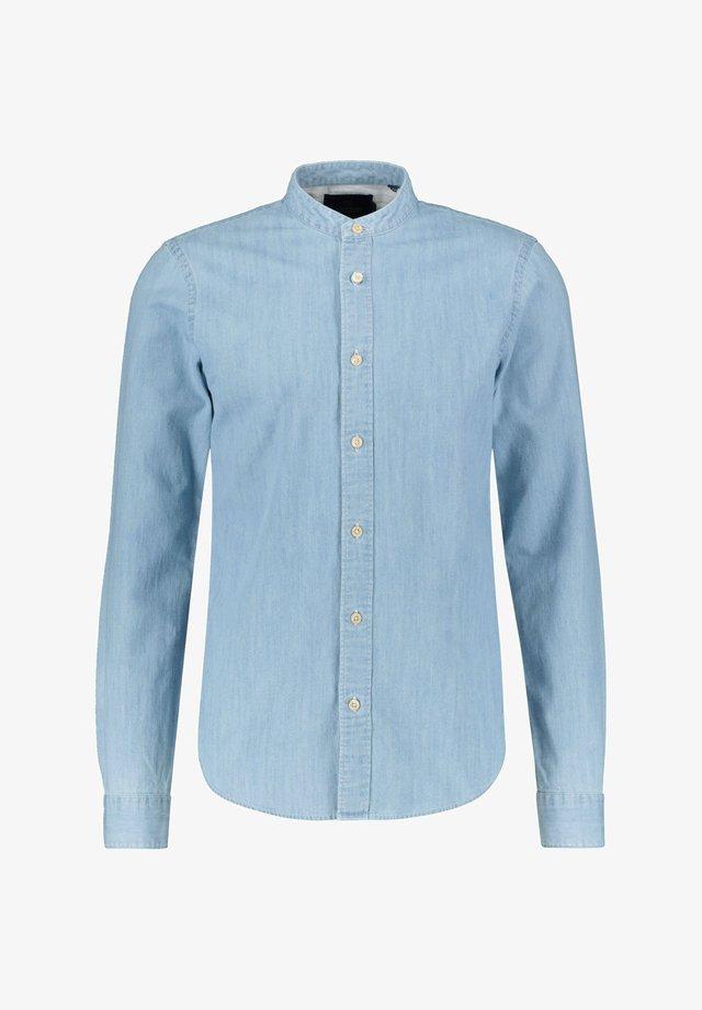 REGULAR FIT HEMD IM STREIFENDESIGN - Overhemd - bleu (50)