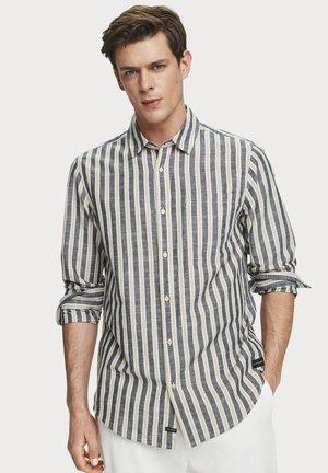 MIT STREIFENMUSTER - Shirt - dark blue