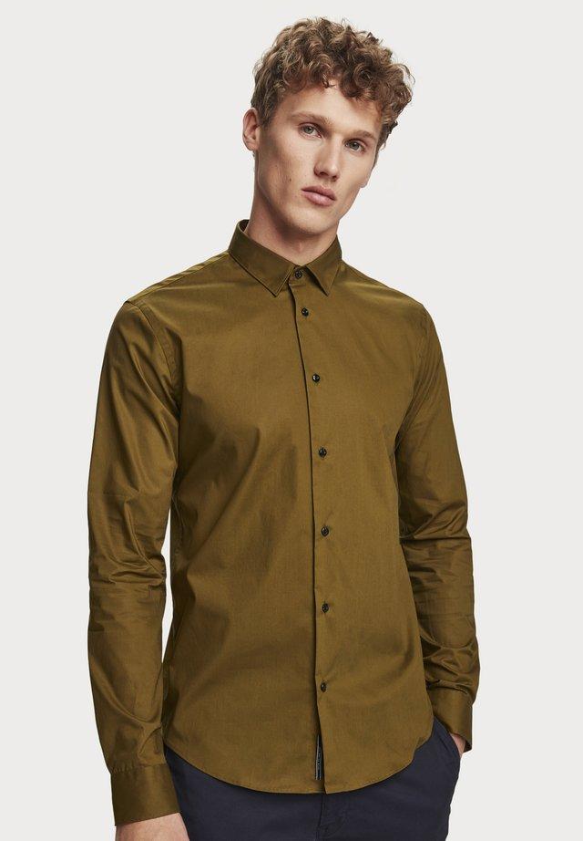 Stretch Slim fit - Overhemd - military