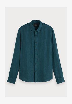 Overhemd - deep sea green