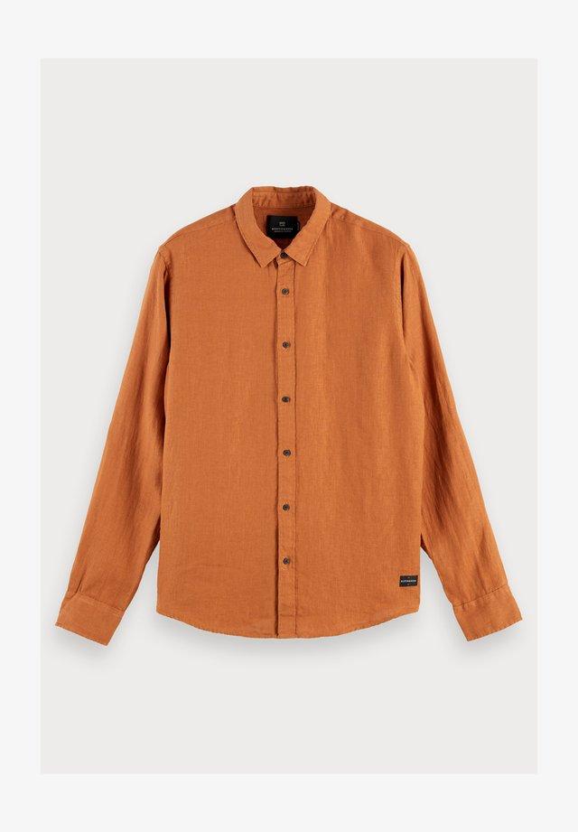 Overhemd - russet brown