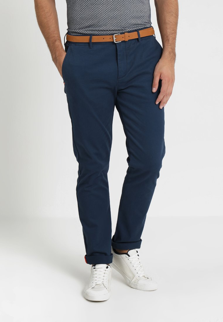 Scotch & Soda - Chinos - teal navy