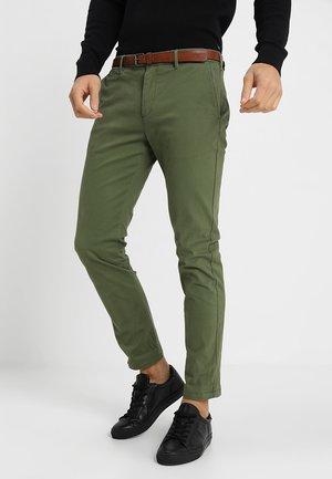 Pantalones chinos - military green