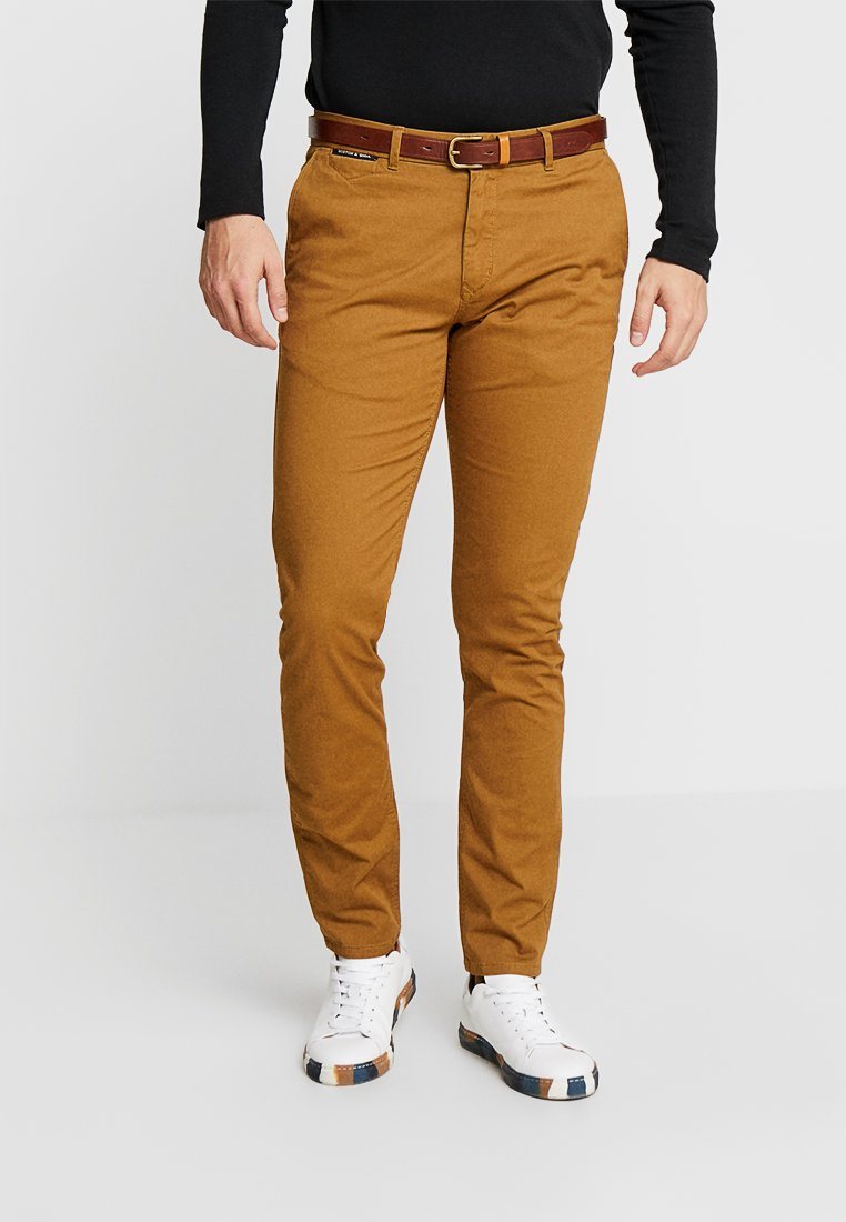 Scotch & Soda - MOTT CLASSIC - Chino kalhoty - walnut