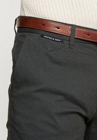 Scotch & Soda - MOTT CLASSIC - Chino kalhoty - charcoal - 5