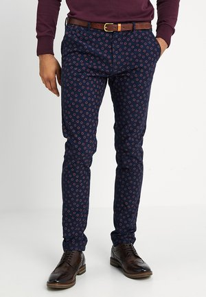 MOTT CLASSIC GARMENT DYED - Trousers - dark blue