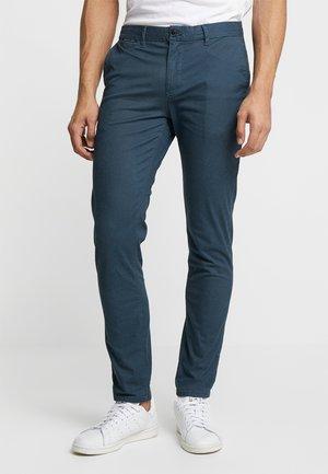 MOTT - Chino kalhoty - steel
