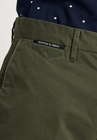 Scotch & Soda - MOTT - Chino kalhoty - military - 3
