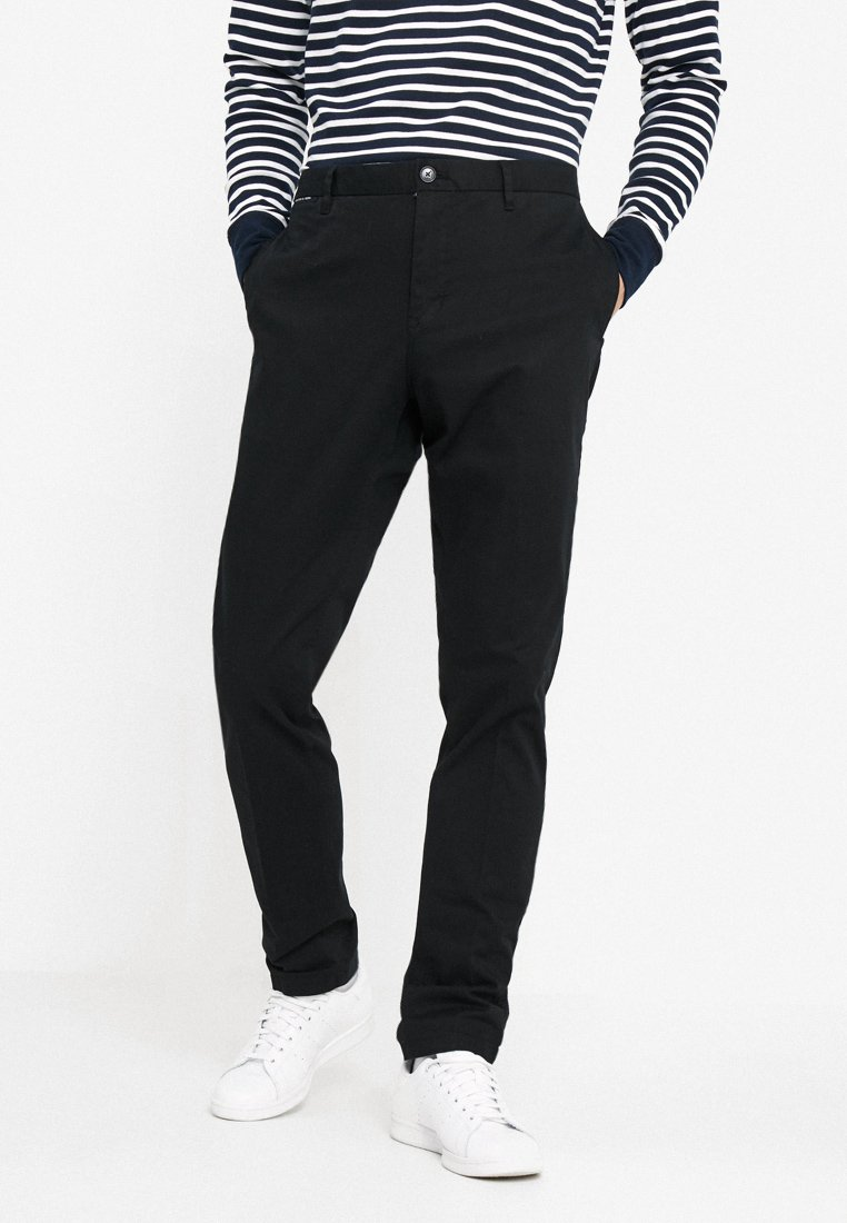 Scotch & Soda - MOTT - Pantalones chinos - black