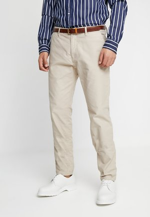 STUART CLASSIC - Chino kalhoty - sand
