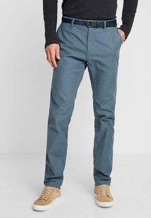 STUART CLASSIC - Chino kalhoty - steel