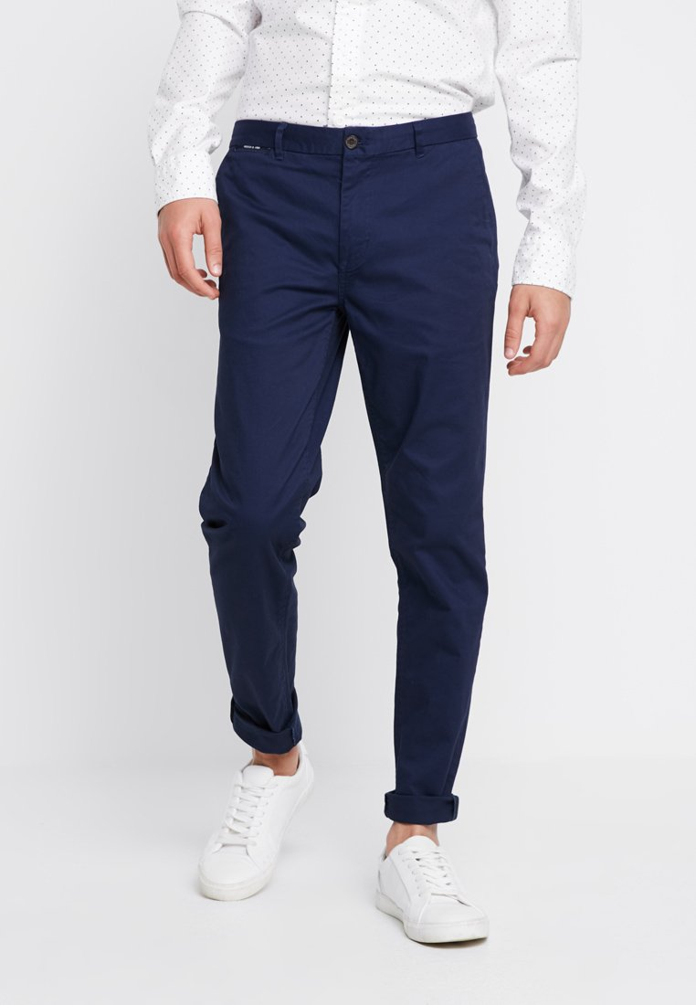 Scotch & Soda - MOTT CLASSIC - Chinosy - navy