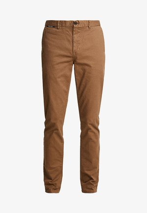 MOTT CLASSIC - Pantalones chinos - coffee