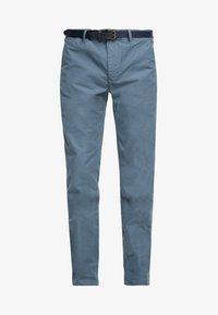 Scotch & Soda - MOTT CLASSIC GARMENT DYED - Chino kalhoty - steel - 4