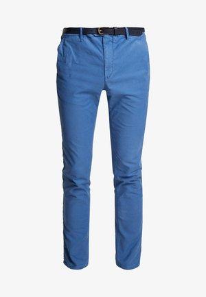 MOTT CLASSIC GARMENT DYED - Chinos - worker blue