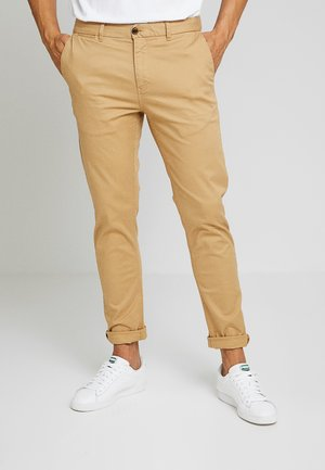 MOTT CLASSIC SLIM FIT - Chino - sand
