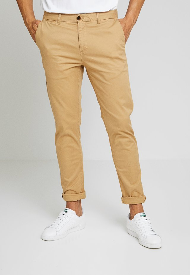 MOTT CLASSIC SLIM FIT - Chinos - sand