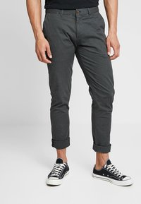 Scotch & Soda - STUART CLASSIC SLIM FIT - Chino kalhoty - charcoal - 0