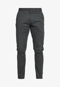 Scotch & Soda - STUART CLASSIC SLIM FIT - Chino kalhoty - charcoal - 4