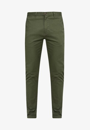 STUART CLASSIC SLIM FIT - Chinot - military