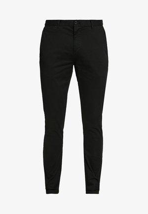 STUART CLASSIC SLIM FIT - Chino - black