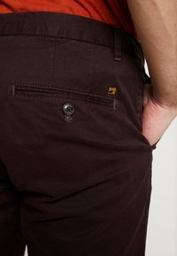 Scotch & Soda - MOTT CLASSIC - Chinos - bordeaubergine - 3