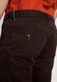 Scotch & Soda - MOTT CLASSIC - Chinos - bordeaubergine - 4