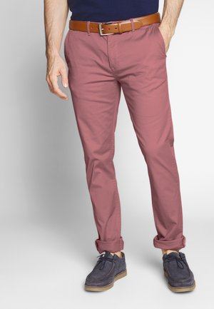 MOTT CLASSIC - Chino kalhoty - pink smoke